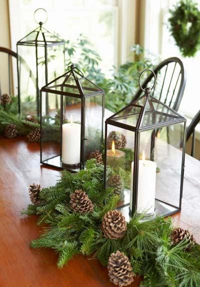 C mo hacer tus centros de mesa para navidad caseros - Adornos mesa navidad caseros ...