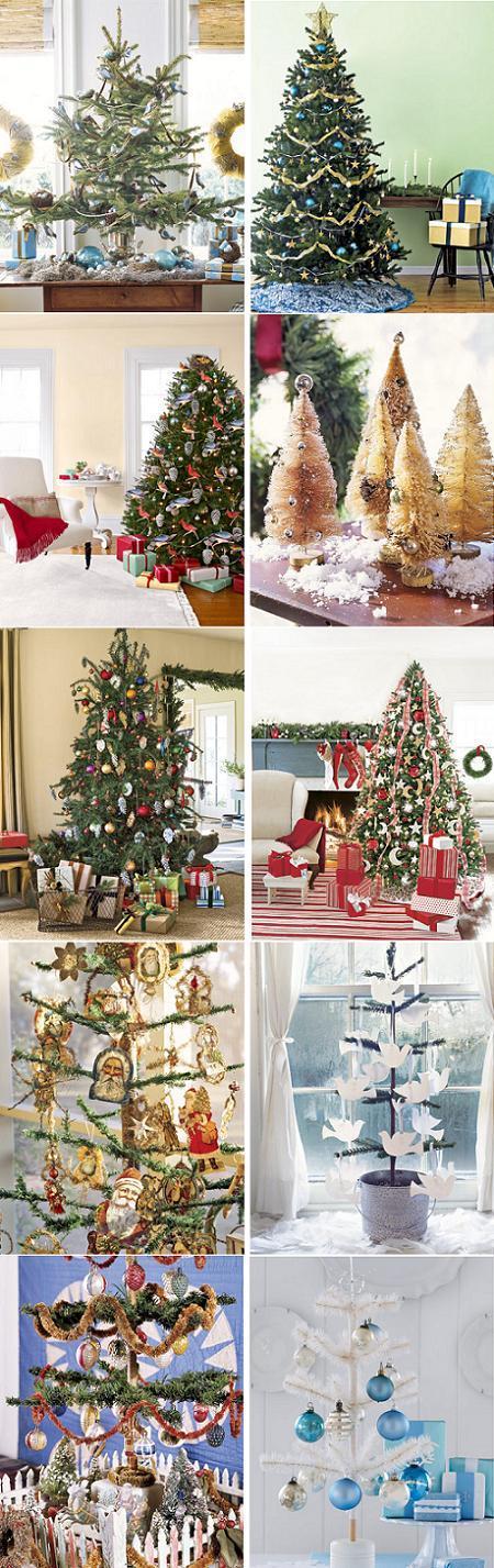 C mo hacer tus adornos de navidad para el rbol de fieltro - Hacer adornos para el arbol de navidad ...