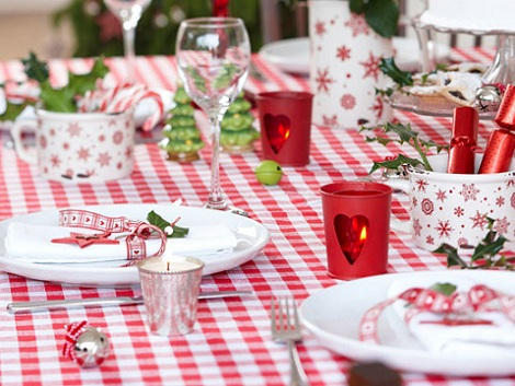 Adornos de navidad para decorar - Decoracion navidad mesa ...