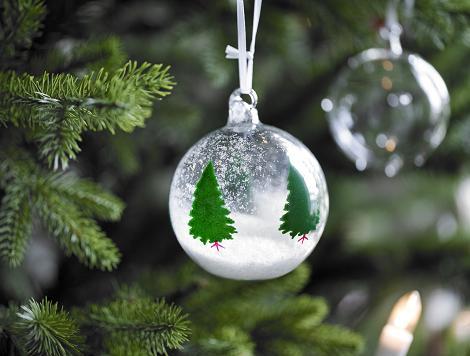 Preciosa bola de Navidad