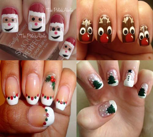 Uñas De Navidad Decoradas 2014 2015