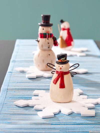 como-hacer-centro-de-mesa-muñecos-de-nieve