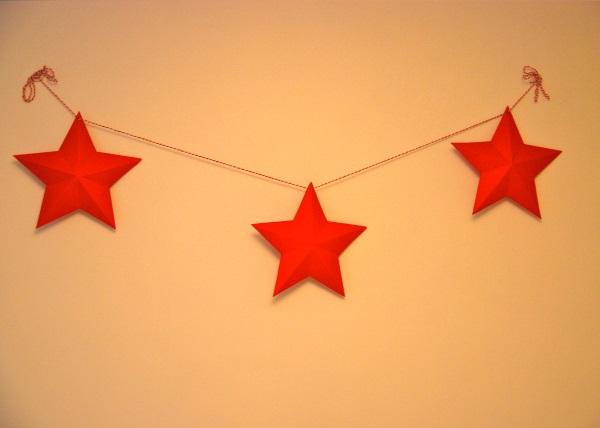 Plantillas Estrellas Para Decorar.Como Hacer Tus Propias Estrellas De Navidad De Papel