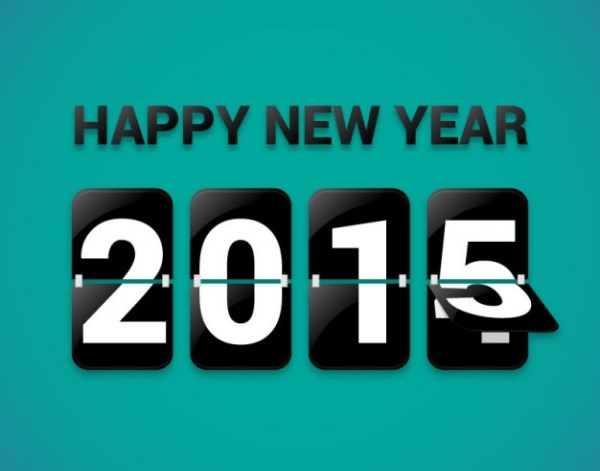 happy new year 2015 calendario