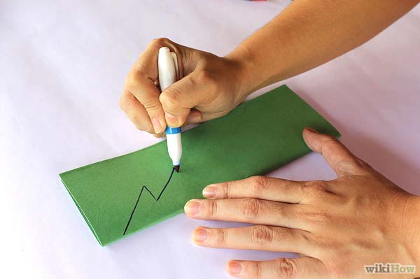 C mo hacer un rbol de navidad de papel o cart n - Como hacer un arbol de navidad de papel ...