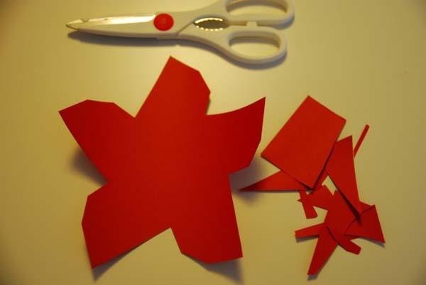 C mo hacer tus propias estrellas de navidad de papel - Ideas para decorar estrellas de navidad ...